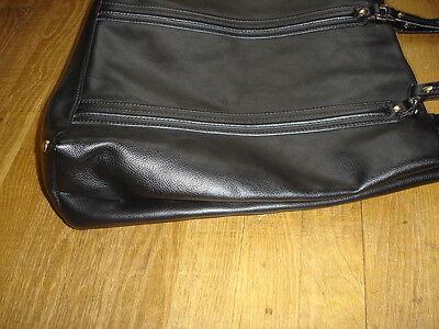 b66ef5be3f ... GUCCI grand sac cabas cuir noir porte a main ou épaule made Italy  valeur 3200 E