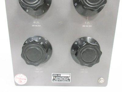Shallcross 817-A Resistance Box Four Decade 0.01 To 100 Ohm 3