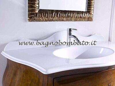 MOBILE BAGNO BOMBATO Noce Rilievi Barocco - EUR 1.499,00 | PicClick IT