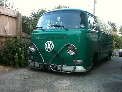 for VW Volkswagen Early Bay Window Camper Bus Van Hurst style Boz Bumper Bar
