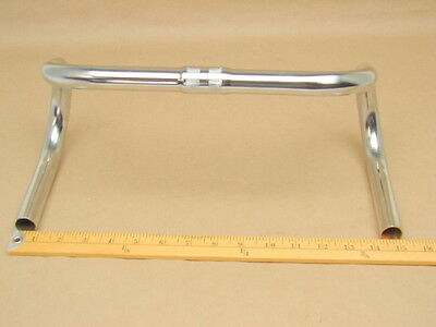 """Vintage NOS Wald Bicycle Chrome Plated Drop Handle Bar Racing 1/"""" Clamp Size"""