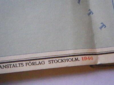 Sweden in Three Parts - Vintage Maps 12