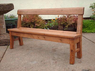 Victorian  Rustic  Pine  Bench 6