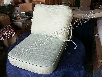 Frontgate Carlisle Rolled Lumbar Finged Outdoor sofa throw chair Pillow