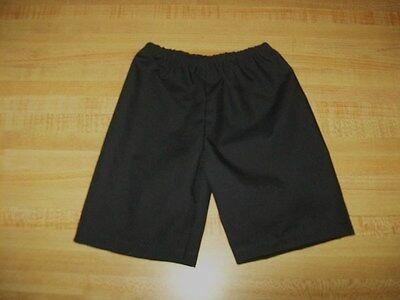 """BOYS BLACK WAITER OUTFIT SHIRT PANTS VEST BOWTIE for 16/"""" CPK Cabbage Patch Kids"""