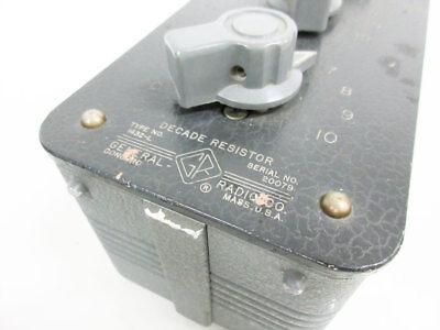 General Radio 1432-L Decade Resistor Gen-Rad 2