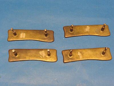 4x ANTIQUE EASTLAKE INSPIRED BRASS DOOR HANDLE 7