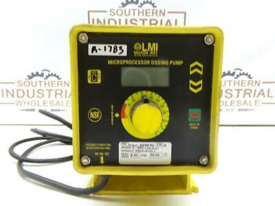 LMI Milton Roy B931-368SI 120VAC 1.5A 50PSI Metering Pump 2