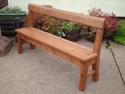 Victorian  Rustic  Pine  Bench 3