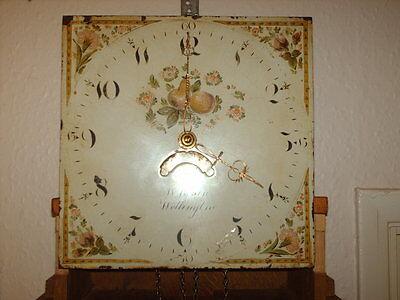 Oak Hooded Wall Clock 9