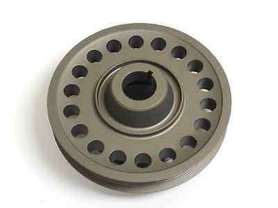 93-01 VMS Racing Light Weight Billet Aluminum Crankshaft CRANK PULLEY for Honda Prelude with the 2.2L DOHC VTEC H22 H22A1 H22A4 engines 1993-2001