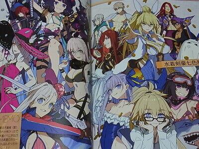 C97 Fate GOMEMO4 Illustration book A4 32p comiket 97 dojin cute girl Wada Arco