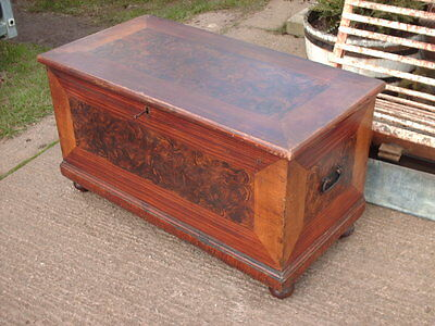 Victorian  Pine  Chest / Bedding  Box 3
