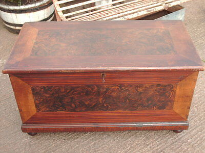 Victorian  Pine  Chest / Bedding  Box 4