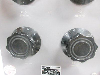 Shallcross 817-A Resistance Box Four Decade 0.01 To 100 Ohm 6