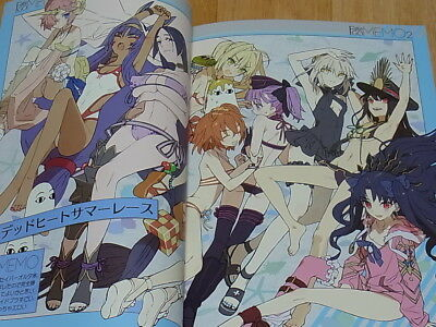 Used Doujinshi FateGO MEMO Art Book Wada Arco wadamemo Fate//Grand Order FGO