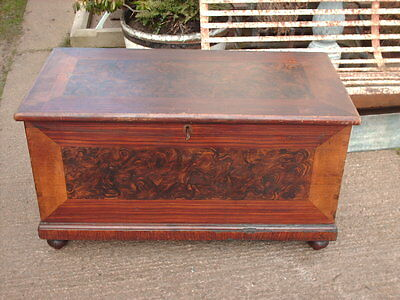 Victorian  Pine  Chest / Bedding  Box 5