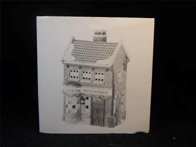 Dept. 56 Heritage Village Dickens Village Weeton Watchmaker #5926-9 w/Box FS 3