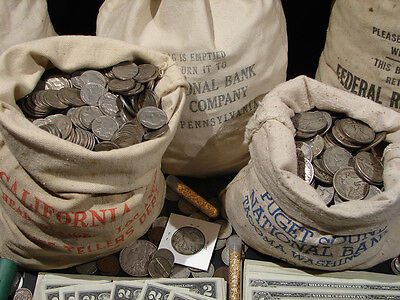 ☆Estate Sale Old Us Coins Lot  ☆ Gold Silver Bullion☆ Currency☆ 50 Years Old+ 9
