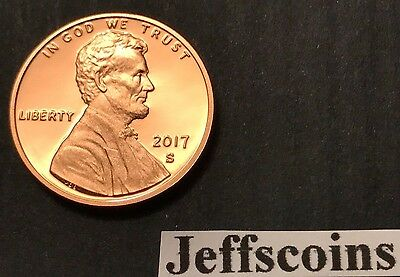 2018 S REVERSE Lincoln Shield Cent Proof Deep Cameo 1¢ New Penny Union US Mint 4