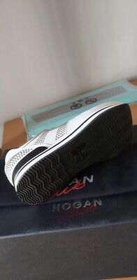HOGAN CLUB ORIGINALI sneakers scarpe donna ladies size 36 white ...