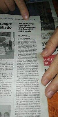 MOCHILA Y JARA, Vestigios de la Guerra Civil en la Provincia de Badajoz 4