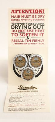 Bounder extra-firm moustache / mustache wax pack of 3 x 10g tins 4