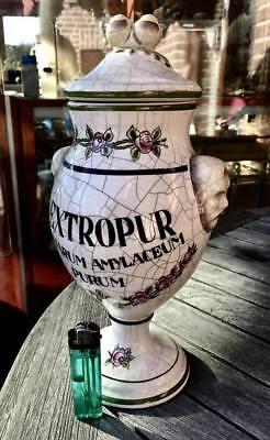 Apotheker - altes, wunderschönes Apothekergefäß aus Keramik - Hingucker!!!