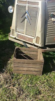 European Vintage Wooden Apple Fruit Crates Rustic Old Bushel Box Shabby Chic 2