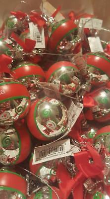 GANZ PERSONALIZED NAME CHRISTMAS MINI BALL SNOWMAN NAME TAG ORNAMENT
