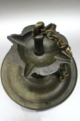 B.C.A.D ART- 14-17th c. Islamic- Indian bronze oil lamp