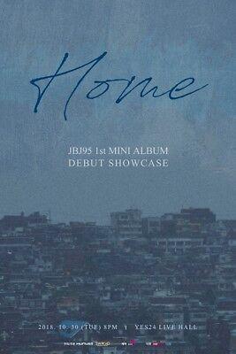 JBJ95-[Home] 1st Mini Album Random Ver CD+Poster+Book+PhotoCard+Mark+Transparent 2