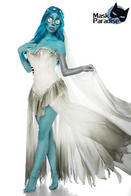 Costume Halloween Sposa Cadavere travestimento Carnevale cosplay Corpse Bride 2