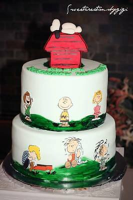 Miraculous Edible Peanut Characters Cake Cupcakes Charlie Brown Pictures Personalised Birthday Cards Paralily Jamesorg