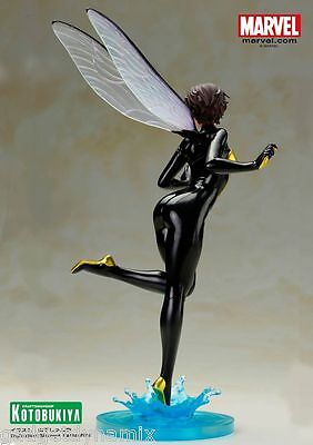 aee8cc47344 3 3 of 5  IN STOCK  WASP Bishoujo Marvel Comics Kotobukiya Janet Van Dyne  Statue NEW! 4