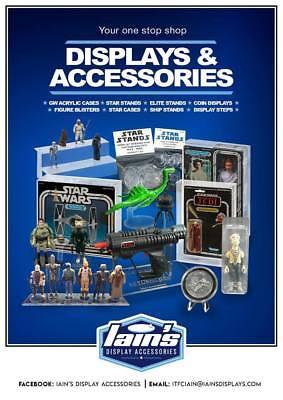 "Wide stance 200 x New 1.5/"" Vintage Star Wars Figure Display Stands T2c"