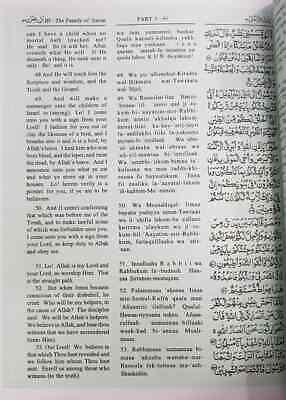 The Holy Quran-Arabic Text English Translation & Transliteration M M Pickth-IBS 2