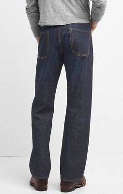 NWT Gap Jeans in Relaxed Fit, Dark Resin, 34x30 2