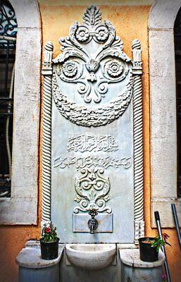 Antique 18C Ottoman Turkey Islamic Middle East Bronze Fountain Faucet Tap Greece 2