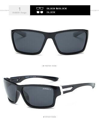DUBERY Mens Womens Vintage Polarized Sunglasses Driving Eyewear Shades UV400 Hot 5