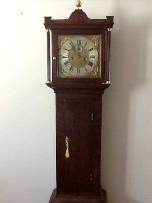 Antique 8  Day  Longcase /  Grandfather  Clock. 3