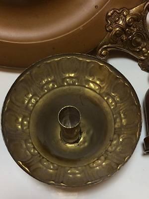 Antique brass lite fixture 8