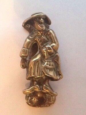 Vintage Brass Dicky Dickinson - Scarborough Door Knocker 2