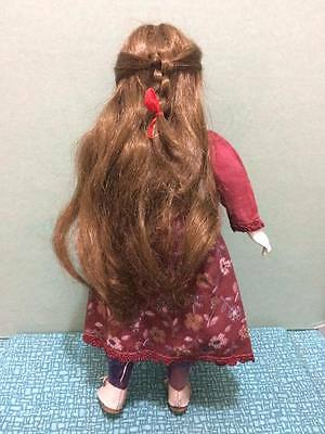 artist signed creepy bisque doll 9