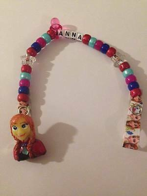 Any Name Personalised Dummy Clips Handmade Disney Toy Story Alien