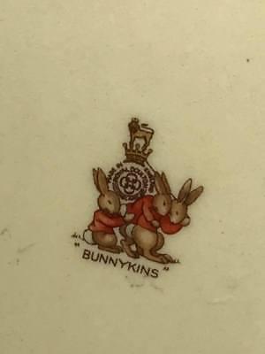 Royal Doulton Barbra Veron Bunnykins Child's Bowl 8