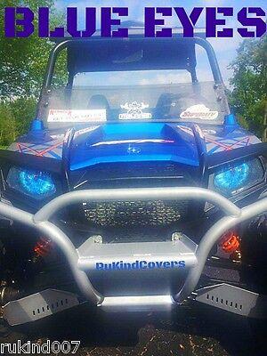 Yamaha Raptor 660 Custom BLUE Eyes HeadLight Covers RUKINDCOVERS SALE