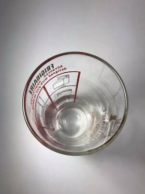 1950's Frigidaire Advertsing Measuring Glass 5