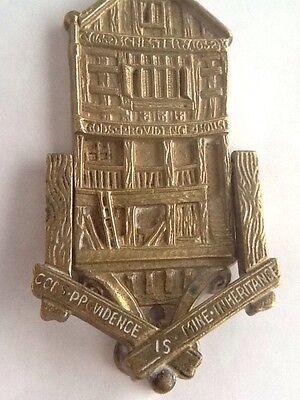 Vintage Brass Gods Providence House - Chester Door Knocker 3