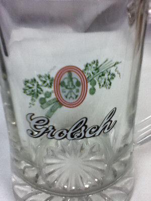 Grolsch beer glass mug bar glasses 1 Dutch brewery logo import bier glasses FH5 3